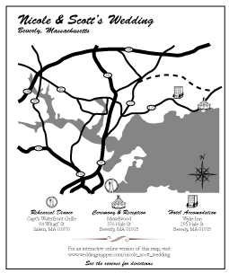 Best maps for wedding invitations gallery styles ideas 2018 custom designs for your wedding invitations wedding mapper stopboris Images